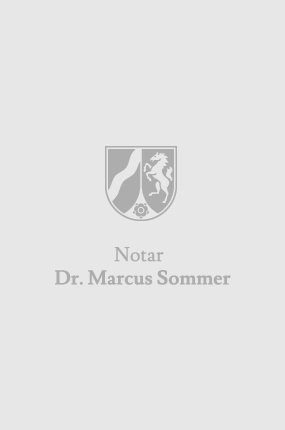Notar Dr. Marcus Sommer